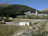 The Henderson Mine headquarters next to Empirein Clear Creek County.  This is one of two sites...
