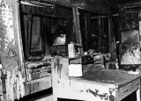 1969 fire guts room in Building 776  Archive photo dated May 1, 1969