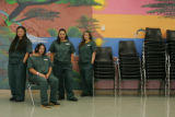 For the Ref C and D Project:  Four women from the Colorado Women's Correctional Facility in Denver...