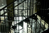 Boulder, CO 01/14/05 This is a detail of the wrought iron work on the staircase off the lobby the...