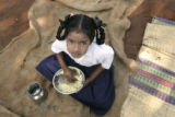 (1/18/05, Kaalapet, India)   7-year-old Sindhuja was lost in the Tsunami waves and her older...