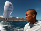NYT24 - (NYT24) TABLE BAY, CAPE TOWN, South Africa -- January 31, 2005  SAFRICA-YACHTSMAN --...