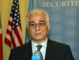 NY191 - **  FILE  ** Benon Sevan Executive Director of the Iraq Programme of United Nations speaks...