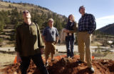 (Boulder, COLO. JANUARY 20, 2005)  HGTV DREAM HOUSE PROJECT.   Left to right:  Christopher Herr,...