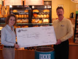 Hello there -  Attached is a photo from Panera Bread's inauguration event of Food Bank of the...