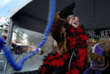 (KEYSTONE, COLORADO:  FEBRUARY 8, 2005)   Newly crowned Keystone Resort's Queen of Mardi Gras,...