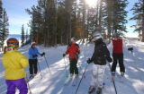 All Images from JH Women's Ski Camp at the Jackson Hole Mountain Resort in Teton Village,...