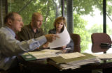 (BOULDER, Colo.  August 11, 2004 .)  HGTV DREAM HOUSE PROJECT.  Tina and Christopher Herr attend...