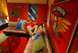 (Denver, Colo., January 27, 2005) Sixteen-year-old Jack Spina's bedroom.  Feature of two...