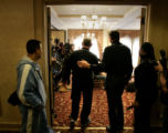 KARL, SPT, TOM LYNN, 1.-George Karl walks into a press conference at the Pfister Hotel in...