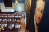 (MONTREAL, CANADA: JANUARY 27, 2005)  A painted portrait of Founder, John Molson, hangs in the...