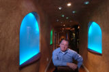 (DENVER, Colo., February 14, 2005)  Stephen Angelo, shown in his entrance hallway that doubles as...