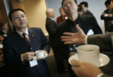 (02/16/2005, Denver, CO) Seven Chinese business came to visit  Key Equipment Finance in Superior...