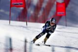 (SANTA CATERINA, Italy - Shot 2/2/2005) U.S. women's downhiller and Vail native Lindsey C. Kildow...
