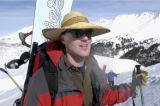 (SILVERTON, Colo., January 11, 2004)  AAron Brill is the owner of Silverton Mountain Ski Area....