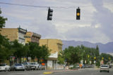 Main Street in the small Western-slope town of Montrose, Co. Twenty-four-year-old Todd Fiske and...