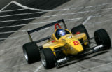 Andreas Wirth rounds turn #9 in the Champ Car Toyota Championship in the Grand Prix of Denver in...