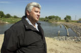 Bob Lembke is a water developer who is conveting Farmers Reservoir and Irrigation Company water to...