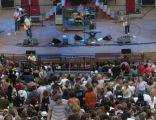 The Fray plays at Red Rocks Amphitheater near Morrison, Colo., Friday, Aug. 12, 2005. Vocals and...