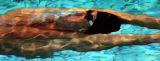 (Athens, Greece  on Sunday, Aug. 15, 2004) - Swimming competition at the 2004 Summer Olympics in...