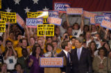 (7/23/2004, Denver, CO)  John Kerry and John Edwards held their kick off of their Journey on...