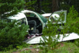 Summit Daily/Kristin Skvorc Two men were injured when a single-engine aircraft crashed along I-70...