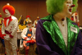 (7/5/2004, DENVER, CO.)  Clowns from the United States and Canada converged on the Doubletree...