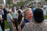 (7/22/2004, Denver, CO)   Architect and landscape designer Thomas Balsley attended the opening...