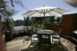 Brian Ray's (cq) deck facing downtown Denver from the 2501 Grove Street project in Denver,...
