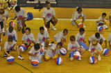 Chauncey Billups annual basketball camp for 250 Park Hill area children started Thursday morning...