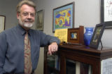 Alan Benson, Regional Director of the National Labor Relations Board in his office in Denver on...