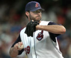 Cleveland Indians starting pitcher Scott Elarton gave another strong start for the Indians...