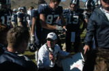 Golden, CO 10/30/04 Colorado School of Mines Orediggers vs. the Mesa Mavericks. Oredigger coach...