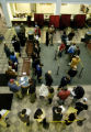 (Denver, Colo.,October 28, 2004 )   Voters line up at the Denver Election Commission, 200 W. 14th...