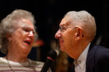Denver, Colo., photo taken November 14, 2004- George Etta (LEFT),87, and Donald Leeper,92, were...