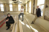 (DENVER, Colo., 10/28/2004)    The renovation of the Tivoli, including the removal of the white...