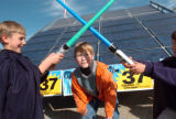 (10/30/04, Denver, CO) Greenpeace workers showed up from different parts of the United States with...
