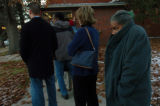 (11/02/04, Denver, CO)People were in line at 6:30 am at Stedman Elementary School at 29th and...