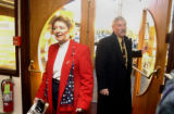 Arvada, Co.,  November 2, 2004.   U.S. House of representative candidate for district 7  Dave...