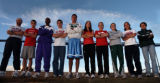 {Greenwood Village, Colorado.  11/16/2004}   2004 All-Colorado boys and girls cross country team,...