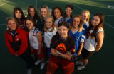 {Greenwood Village, Colorado.  11/16/2004} 2004 All-Colorado field hockey team     (Photo by Linda...