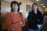 Denver, Colo.-November 4,2004-Linda Whitley has worked for Albertsons for 8 years and her daughter...