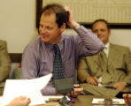 (DENVER COLORADO -  May 3, 2004 ) House Rep. Bill  Cadman ( R - HD 15) tried to get his HCR 1018 ...
