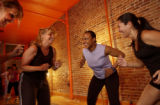 {Denver, Colorado., November 10, 2004} Fitness story. Mothers who are in our Fitness Challenge...