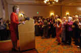 (10/27/2004) Greenwood Village Colorado- Senator Elizabeth Dole is introduced at a Women's Get Out...