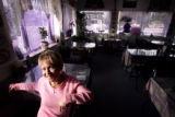 (AURORA, Co. - SHOT 2/22/2005) Owner and chef Pim Fitt in the dining room at Yummy Yummy Tasty...