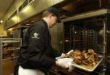 (Englewood, CO., Feb. 16, 2005)  Corporate Chef Robert Gitre of Epicurean Catering in Greenwood...