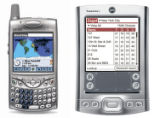 NYT30 - (NYT30) UNDATED -- March 7, 2005 -- BIZ-TRAVEL-HANDHELDS -- Handango's WorldMate on a...