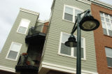 "Westminster, CO 02/03/05 Apartment row homes in Bradburn Village which is a very dense ""new..."