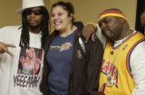 (DENVER, Colo., February 17, 2005) Lil Jon, Summer Benavidez,19, Hugoton, KS, the lucky KS 107.5...